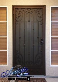 17 Best images about Wrought iron door, gates on Pinterest ...