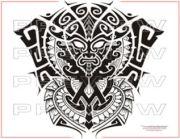 amazing aztec tattoo full sleeve