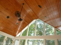 Tongue and Groove screen porch ceiling by Archadeck of ...