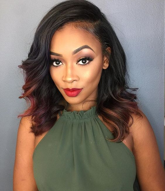 25 Best Ideas About Sew In Hairstyles On Pinterest Sew In Weave