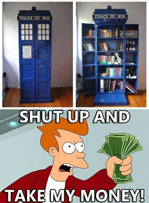 But do I pin this to my book board or my Doctor Who board? What the heck; Ill pi