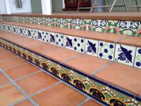 My new backyard Mexican tile patio! Love it! | I Want A ...