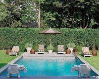 english garden pool | Outdoor Spaces | Pinterest | Garden ...