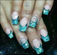 Frozen inspired Elsa nail art | *Nail*