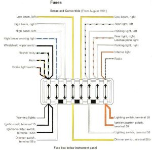 1965 VW Wiring Diagram | Volkswagen Wiring Diagrams