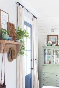 Best 20+ Front door curtains ideas on Pinterest   Door ...