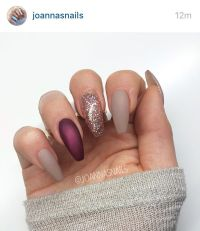 17 Best ideas about Plum Nails on Pinterest | Winter nails ...