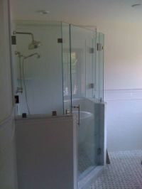 164 best images about corner shower for small bathroom on ...
