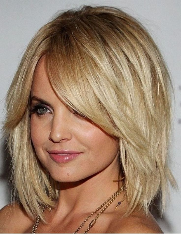 25 Best Ideas About Medium Layered Hairstyles On Pinterest