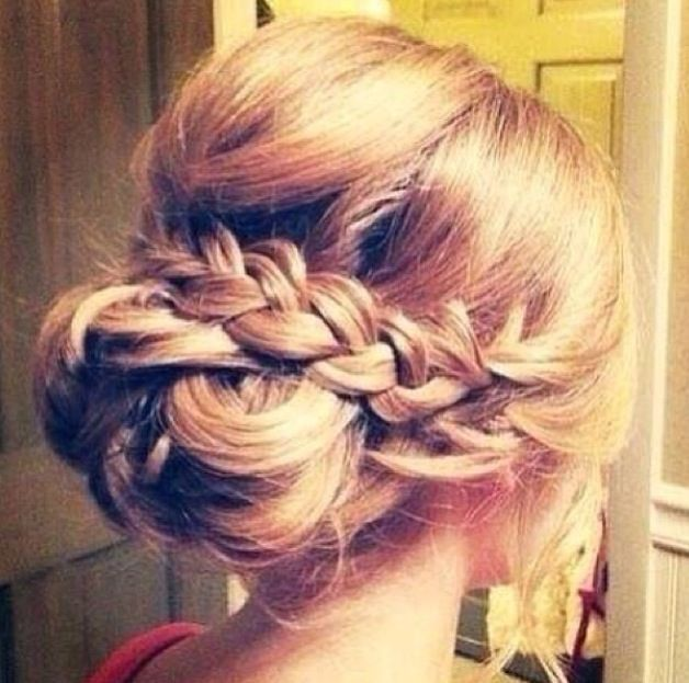 87 Best Images About Prom Hairstyles On Pinterest Bridesmaid