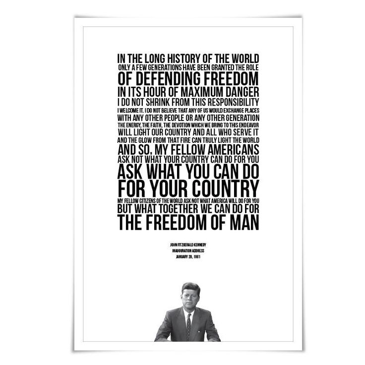 Best Jfk quotes ideas on Pinterest