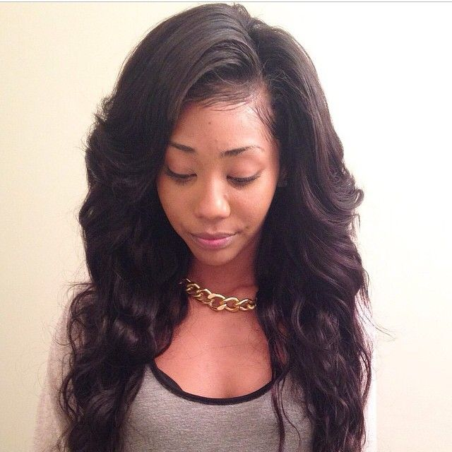 1000 ideas about Long Weave Hairstyles on Pinterest  Long Weave Weave Hairstyles and Curly Weaves