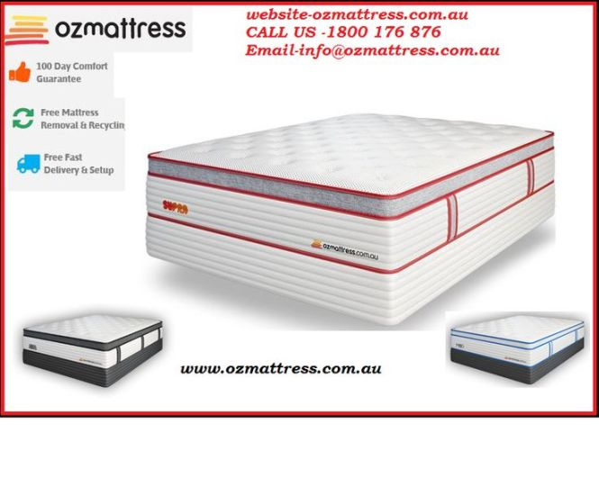 At Oz Mattress We Have The Largest Collection Of High Comfortable And Luxurious For