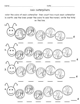 17 Best images about Counting Money Worksheets on
