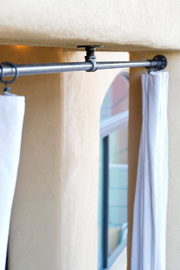 17 Best Ideas About Outdoor Curtain Rods On Pinterest Outdoor
