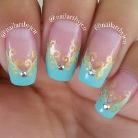 25+ best ideas about Princess Nail Designs on Pinterest