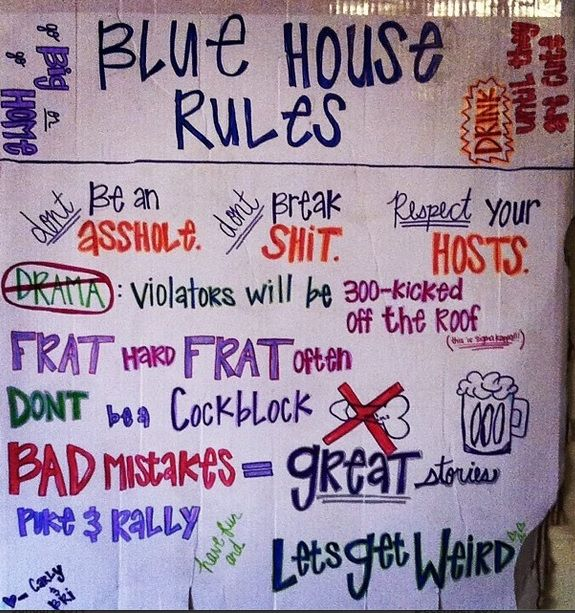 House Parties Ideas College House Ideas
