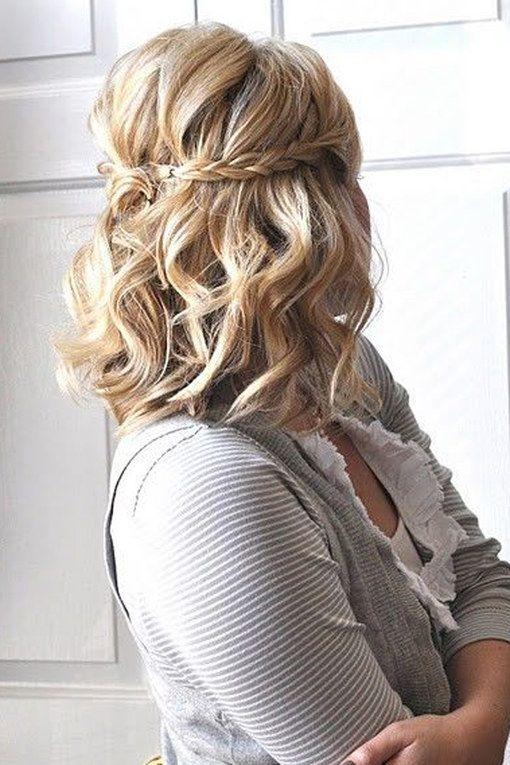 Die Besten 25 Brautfrisur Kurze Haare Ideen Auf Pinterest