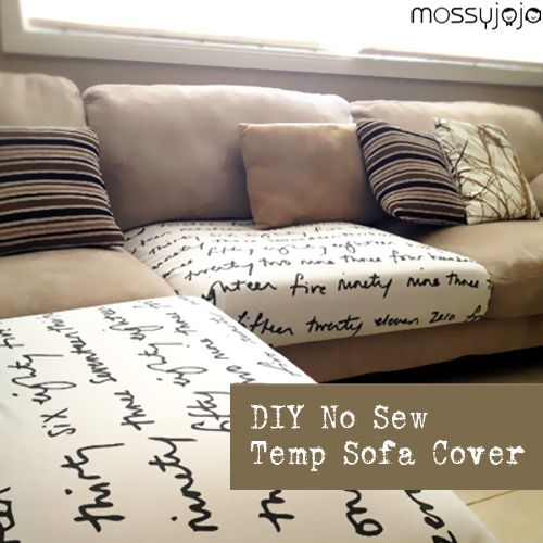 how to reupholster a sofa no sew turquoise throw best 10+ ikea fabric ideas on pinterest | plastic sheet ...