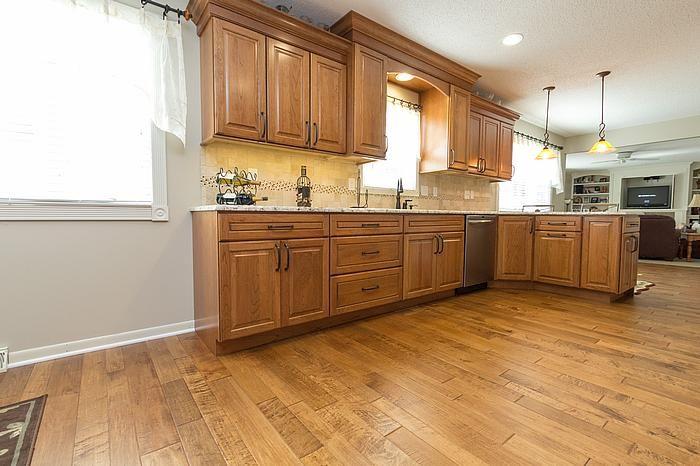 Designers Laura cabinets countertops Bill flooring