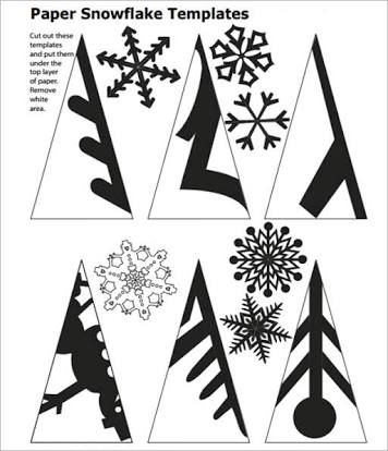 25+ best ideas about Snowflake template on Pinterest