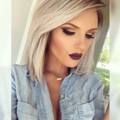 Dramatic eyeliner and dark lips are winter makeup looks that you can rock all year!