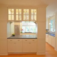 Kitchen Design Ideas -kitchen to dining room transition ...