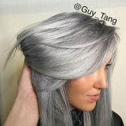 chic silver grey