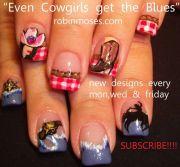 ideas western nails