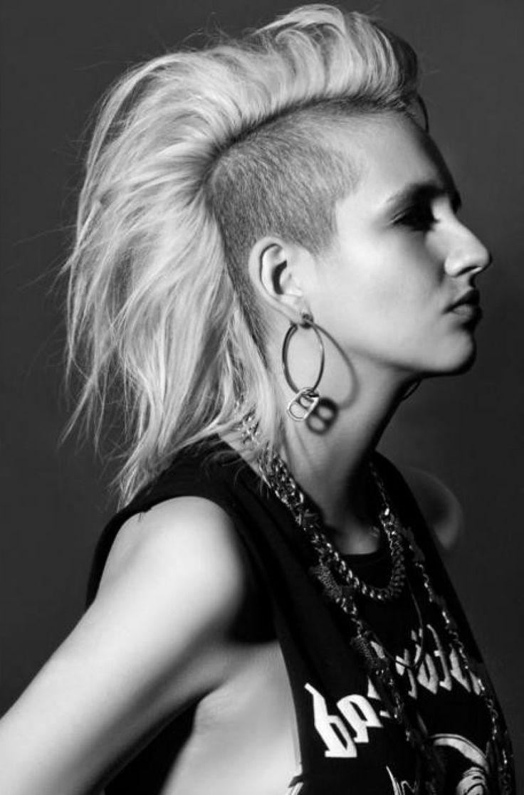 25 Best Ideas About Long Mohawk On Pinterest Long Hair Mohawk