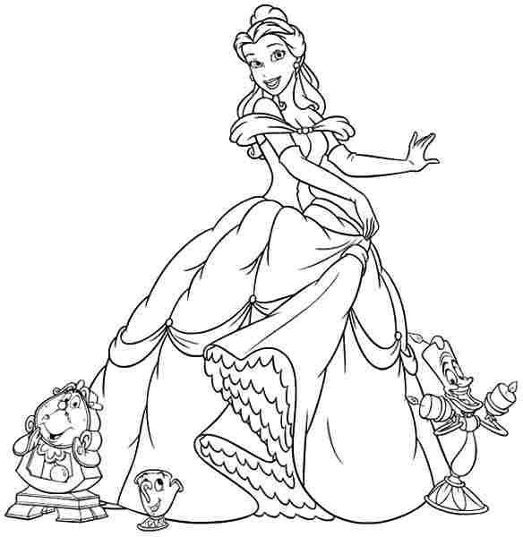 Free Coloring Sheets Coloring Pages Disney Princess The