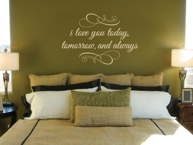 25 Best Bedroom Wall Quotes On Pinterest Signs Decorative And Brown Walls