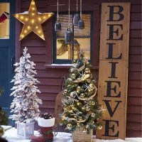 Our wooden Believe Sign from Country Door makes any front ...