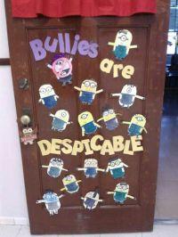 Anti bullies | Bulletin Board Ideas | Pinterest | Minions ...