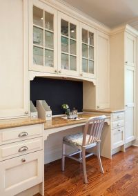 Built In Kitchen Desk | ... built in kitchen desk, kitchen ...