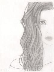 ideas girl drawings