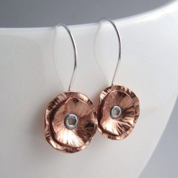 Best 25+ Copper earrings ideas on Pinterest
