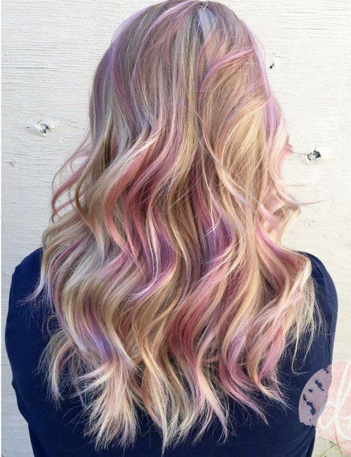 1000+ ideas about Colored Hair Streaks on Pinterest