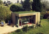 Sustainable, #prefab Garden Studio, beach chalet ...