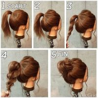Best 20+ Updos ideas on Pinterest | Simple hair updos ...