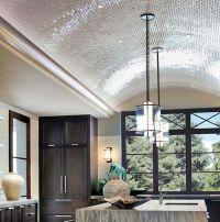 Tiled barrel ceiling in kitchen | Tile | Pinterest ...