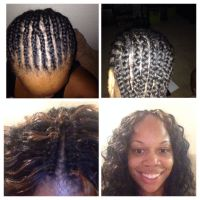 Sew In Weave Braid Patterns | Short Hairstyle 2013