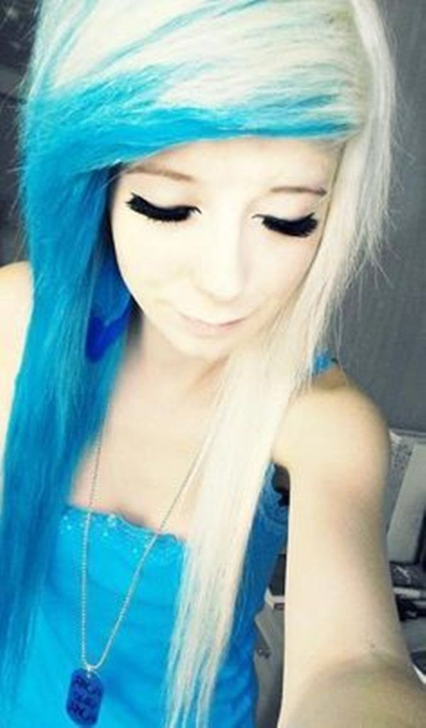 421 Best Images About Cheveux Emo Scene Hair On Pinterest Scene