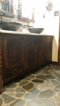 1000+ images about For the Bath - Barn Wood Furniture on ...