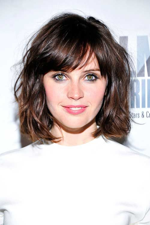 25 Best Ideas About Thick Hair Bangs On Pinterest Thick Bangs