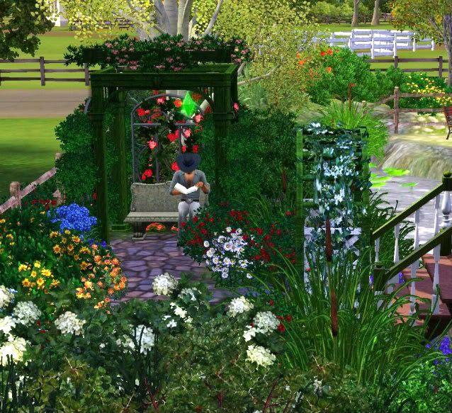 12 Best Images About Sims 3 Garden Ideas On Pinterest Gardens