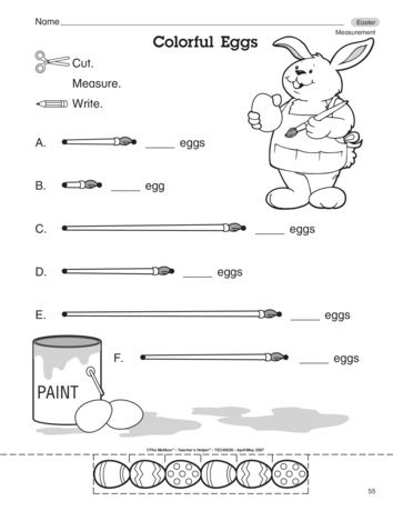 233 best images about Easter/Spring Math Work on Pinterest