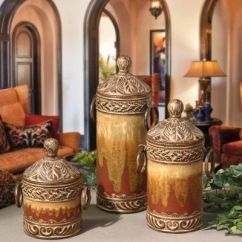 Kitchen Pottery Canisters Garage Door Tuscan Canister Set.. | Home Pinterest Love ...