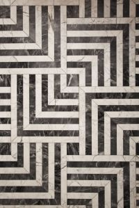 Hypnotic pattern //// Black and white tiles...this MUST be ...