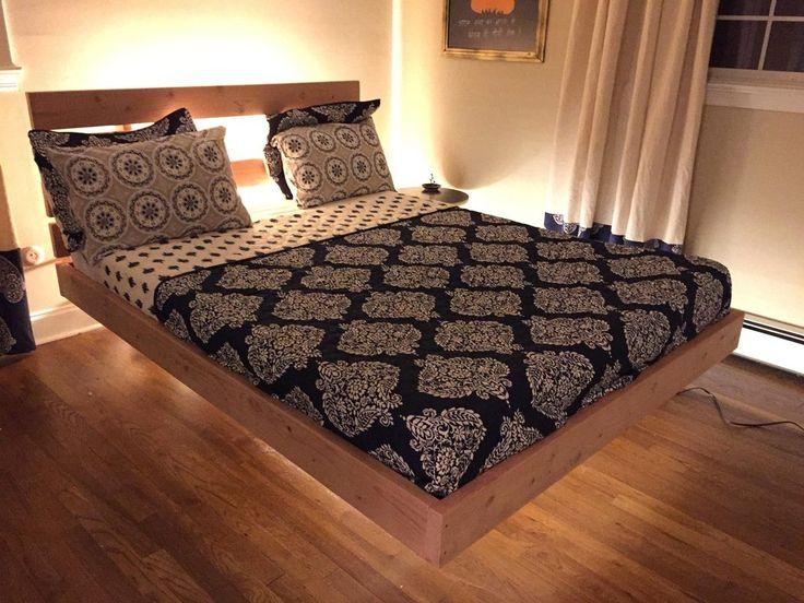 Best 25 Floating Bed Frame Ideas On Pinterest Floating